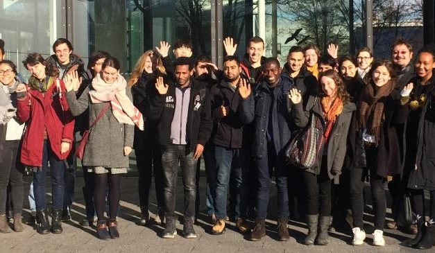 Excursion of the Global Change Ecology students to DLR