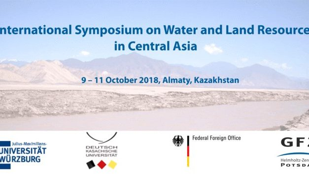 International Symposium on Water and Land Resources in Central Asia, 09-11 October, Almaty