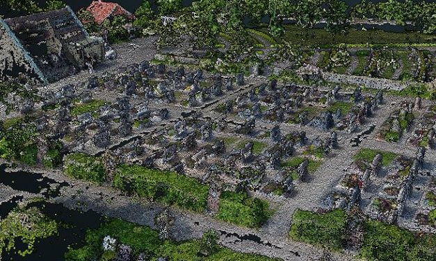 new B.Sc. thesis: UAV-based cemetery map