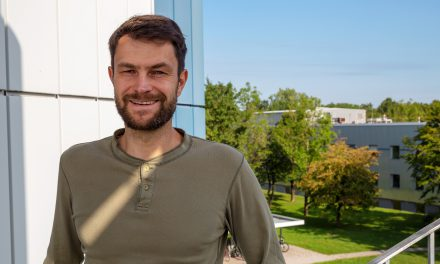 New PostDoc Frank Thonfeld