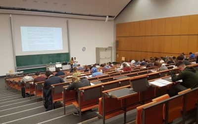 Winter term review: 125 students, 65 teaching hours and 3 courses