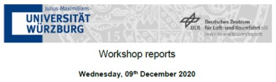 Workshop Report at the Department of Remote Sensing – December 09, 2020