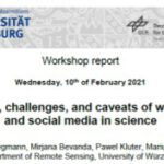 Workshop Report at the Department of Remote Sensing – February 10, 2021