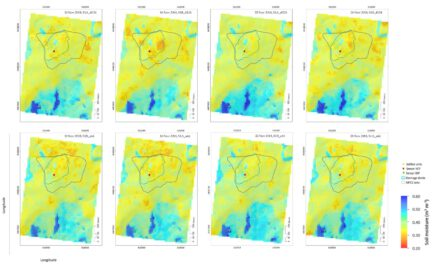 New publication: Statistical Exploration of SENTINEL-1 Data, Terrain Parameters, and in-situ Data for Estimating the Near-Surface Soil Moisture in a Mediterranean Agroecosystem