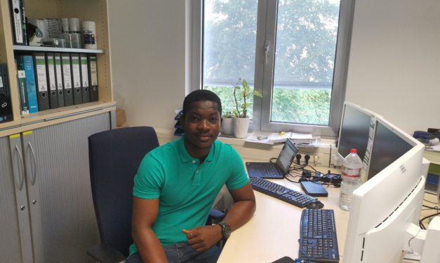 New PhD student Boris Ouattara