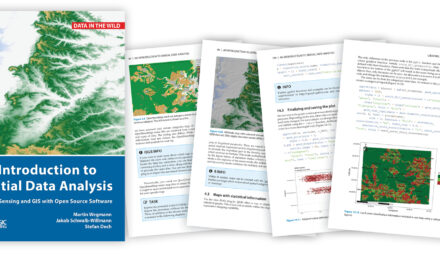 """Book """"Intro to Spatial Data Analysis"""" in Print"""