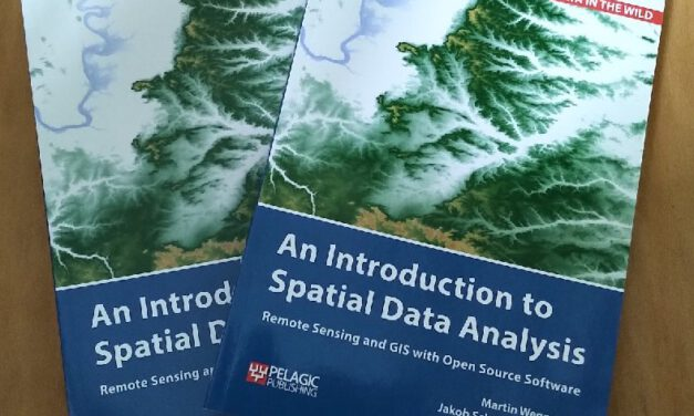 """New Book """"Intro to Spatial Data Analysis"""" finally arrived"""