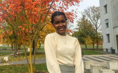New Phd student Itohan-Osa Abu