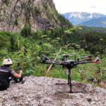 UAV Lidar data Acquisition in the Alps